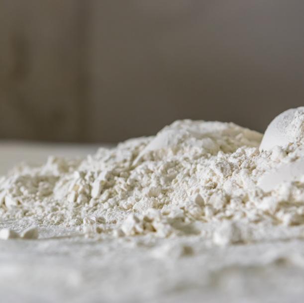 mjöl med hög proteinhalt