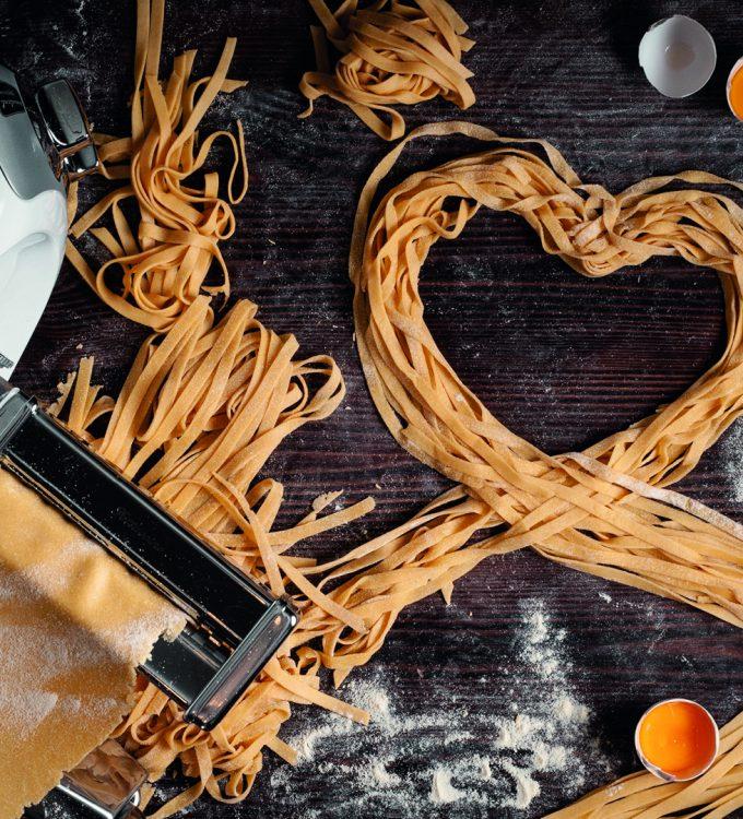 Hemgjord pasta Ankarsrum