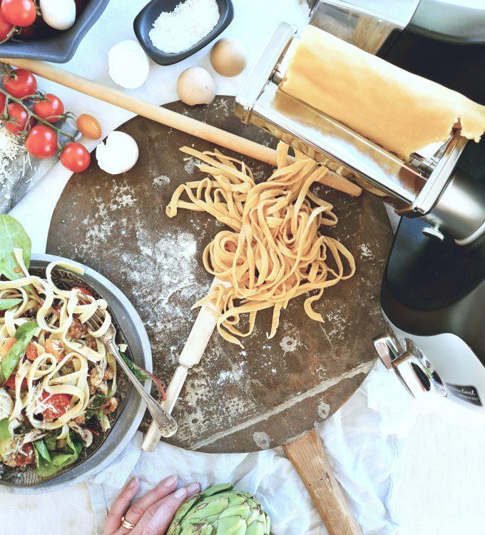 Pasta med Ankarsrum
