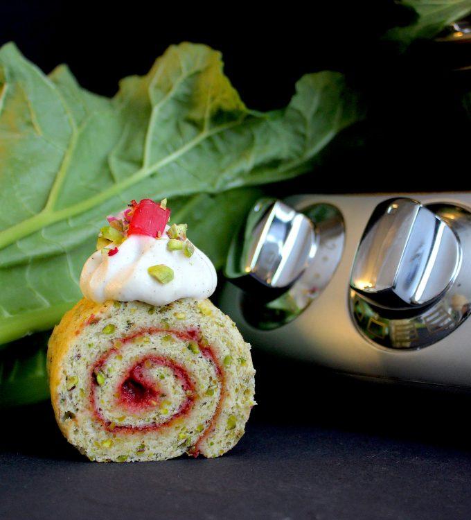 Rhubarb cake Ankarsrum