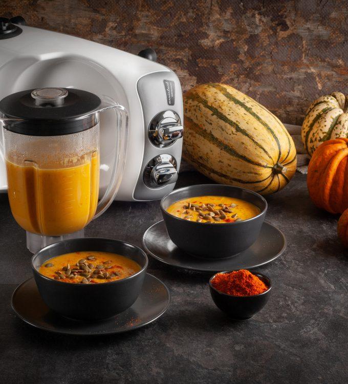 pumpkin soup ankarsrum